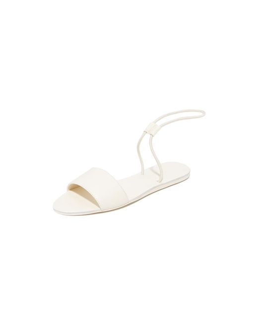 Dolce Vita   White Dara Elastic Sandals   Lyst