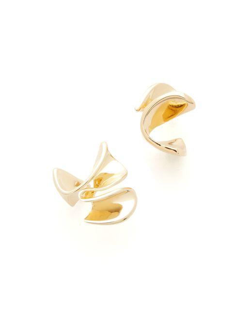 Elizabeth and James | Metallic Arp Earrings | Lyst