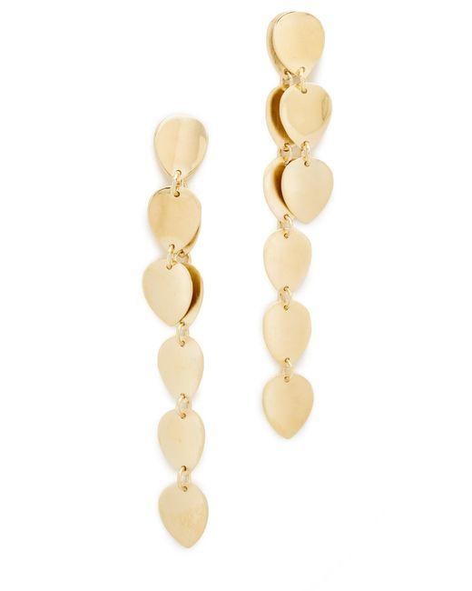 Elizabeth and James | Metallic Santorini Earrings | Lyst