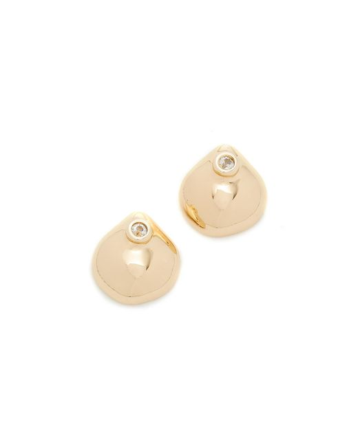 Elizabeth and James | Metallic Hazel Stud Earrings | Lyst
