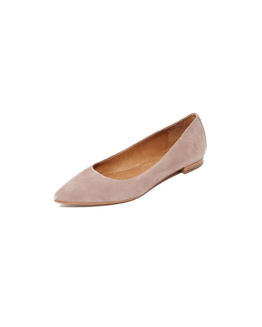 Frye | Pink Sienna Ballet Flats | Lyst