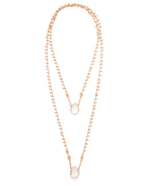Gas Bijoux | Metallic Scapulaire Necklace | Lyst
