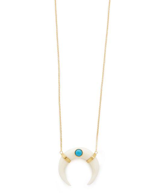 Jacquie Aiche | Metallic Ja Turquoise & Horn Necklace | Lyst