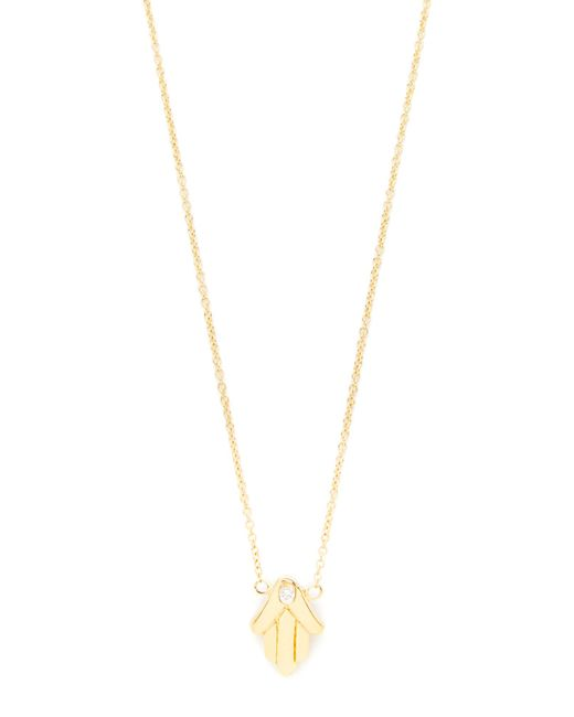 Jacquie Aiche | Metallic Hamsa Hand Necklace | Lyst