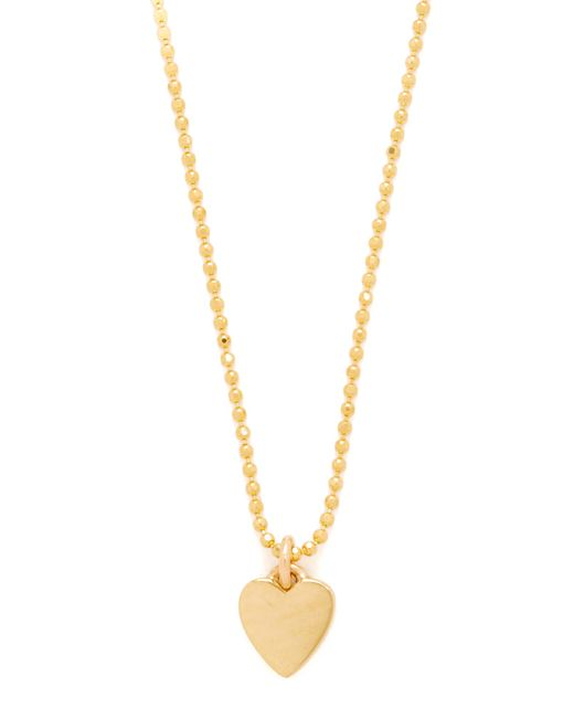 Jennifer Meyer   Metallic Heart Necklace   Lyst