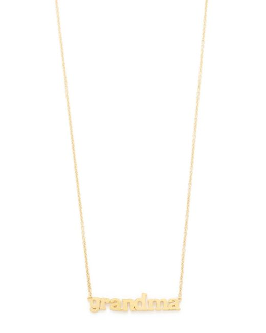 Jennifer Meyer | Metallic Grandma Necklace | Lyst