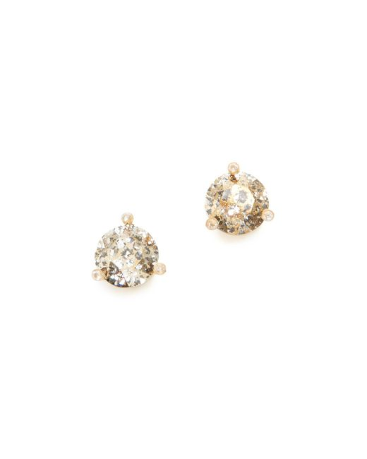 Kate Spade | Metallic Rise & Shine Small Stud Earrings | Lyst