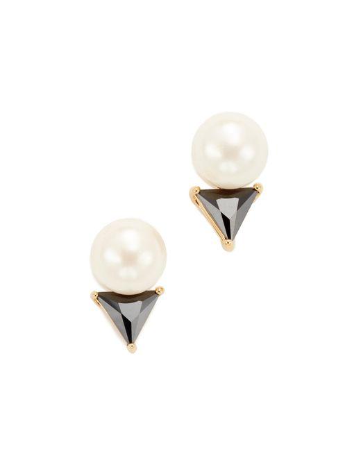 Kate Spade | Multicolor Bright Ideas Triangle Stud Earrings | Lyst