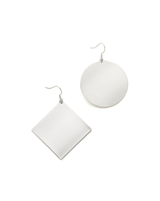 Kenneth Jay Lane | Metallic Geometric Earrings | Lyst