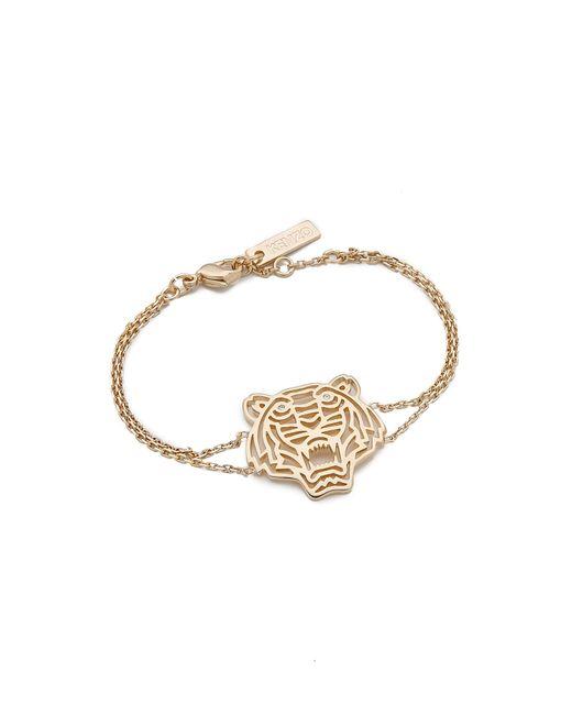 KENZO | Metallic Tiger Bracelet | Lyst