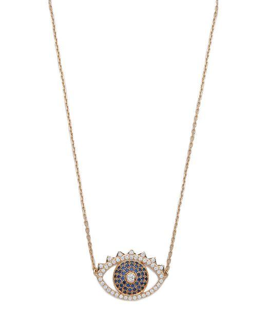 KENZO | Blue Eye Necklace | Lyst