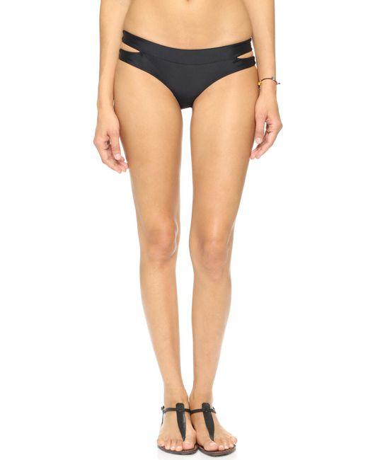 Mikoh Swimwear | Black Puka Puka Bikini Bottoms | Lyst