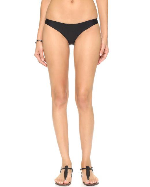 Mikoh Swimwear | Black Zuma Bikini Bottoms | Lyst