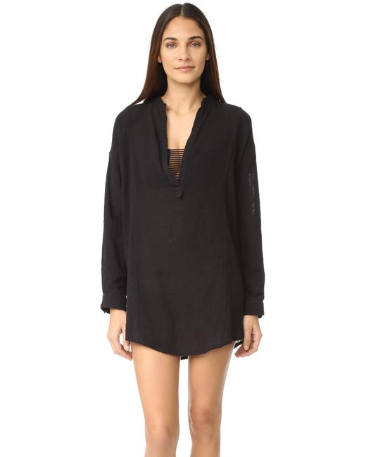 Mikoh Swimwear | Black Cannes Tunic | Lyst