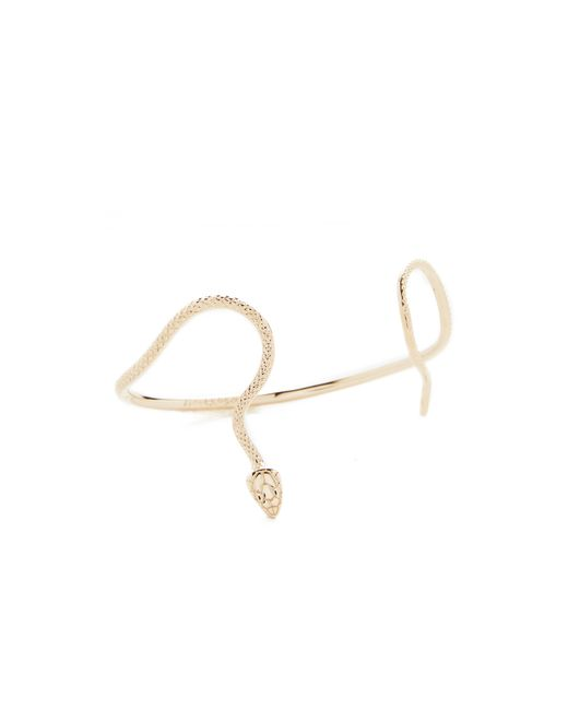 Nora Kogan | Metallic Alexandra Cuff Bracelet | Lyst