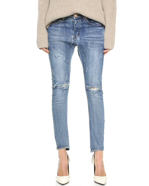 One Teaspoon | Blue Desperado Jeans | Lyst
