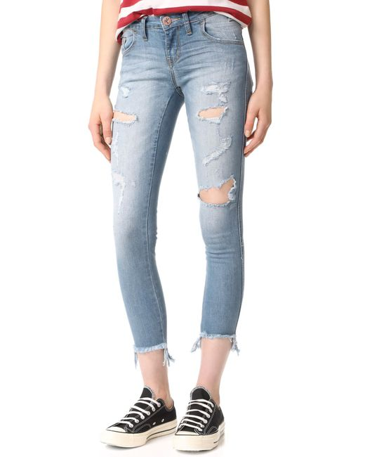 One Teaspoon | Blue Freebird Ii Skinny Jeans | Lyst