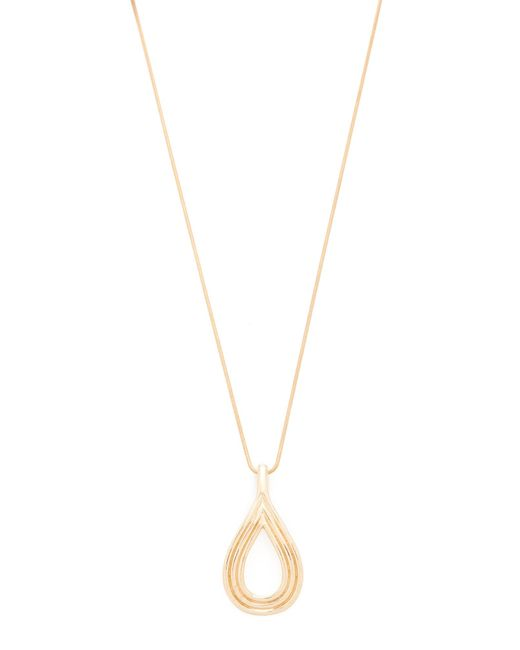 Pamela Love | Metallic Arco Pendant Necklace | Lyst
