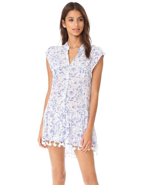 Poupette | Blue Heni Mini Dress | Lyst