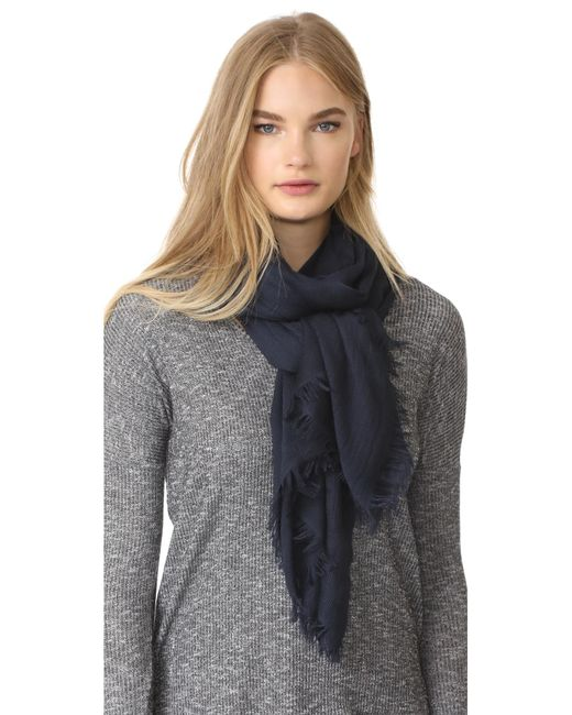 Rag & Bone | Blue Buckley Scarf | Lyst
