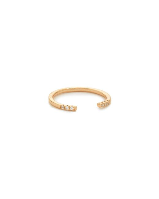Shashi | Pink Ava Ring | Lyst