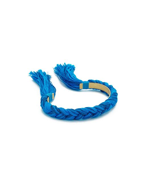 Shashi | Blue Celine Cuff Bracelet | Lyst