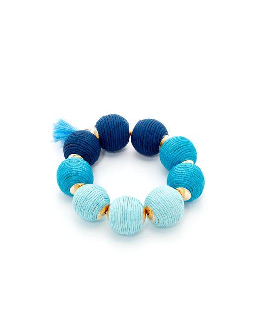 Shashi   Blue Matilda Bracelet   Lyst