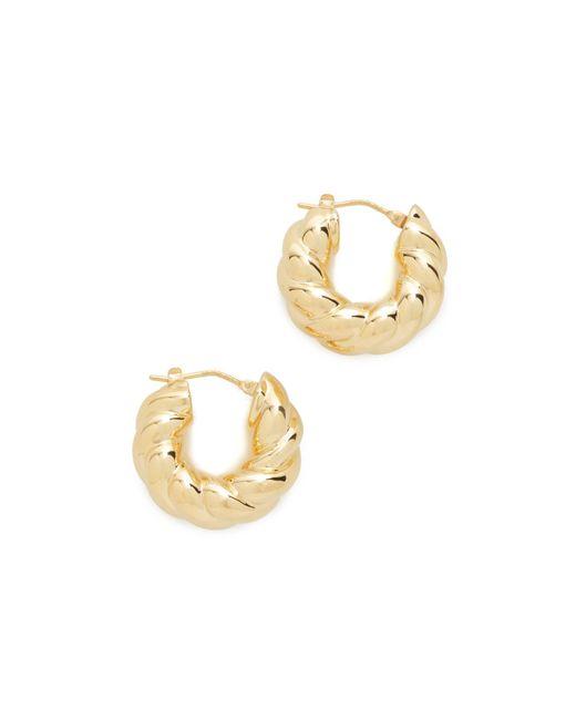 Soave Oro | Metallic Graduated Bold Twist Earrings | Lyst