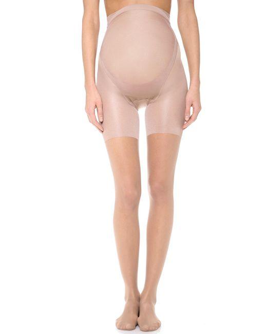 Spanx | Natural Spanx Mama Full Length Maternity Pantyhose | Lyst