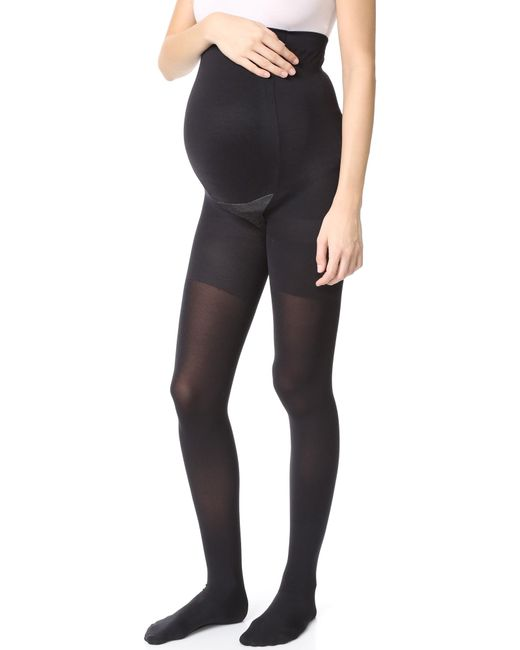 Spanx | Black Mama Maternity Tights | Lyst
