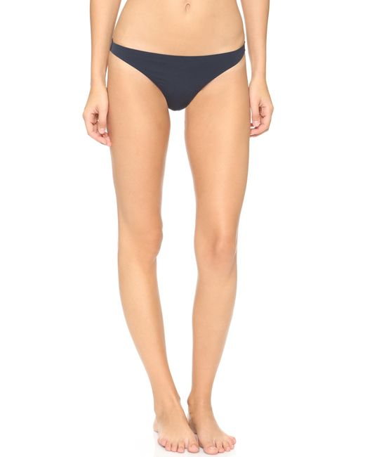 Stella McCartney | Blue New Stella Smooth & Lace Thong | Lyst