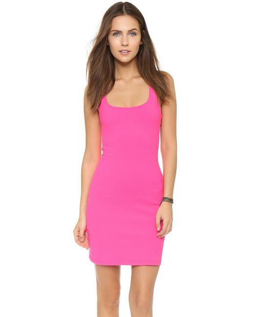 Susana Monaco | Purple Racer Mini Dress | Lyst