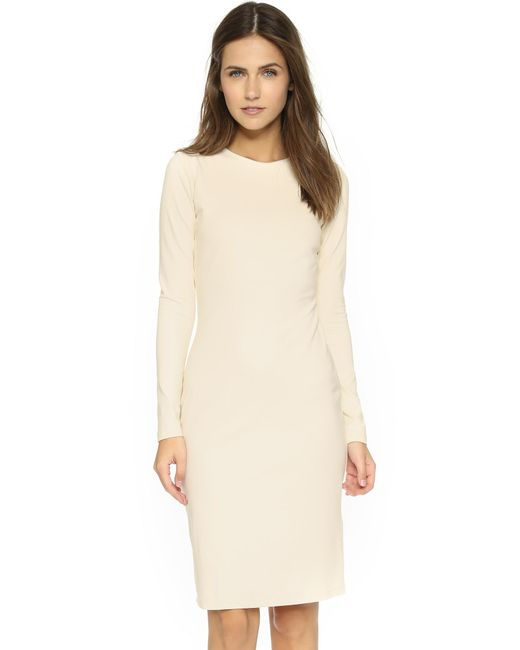 Susana Monaco | Metallic Emma Long Sleeve Dress | Lyst