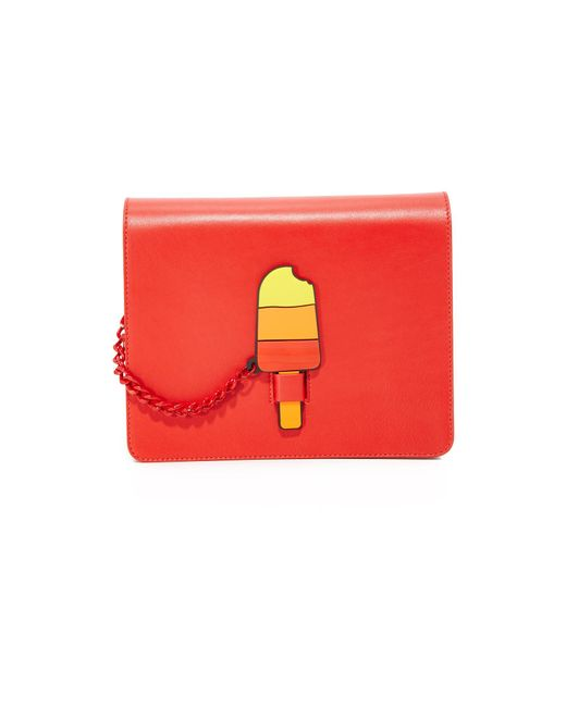 Yazbukey | Red Popsicle Chain Bag | Lyst