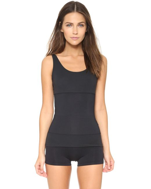 Yummie By Heather Thomson | Black 3 Panel Tank | Lyst