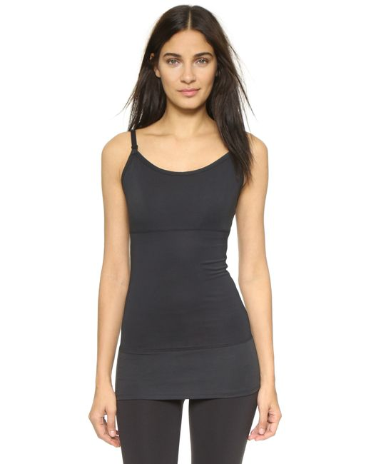 Yummie By Heather Thomson | Black Nursing Tank | Lyst