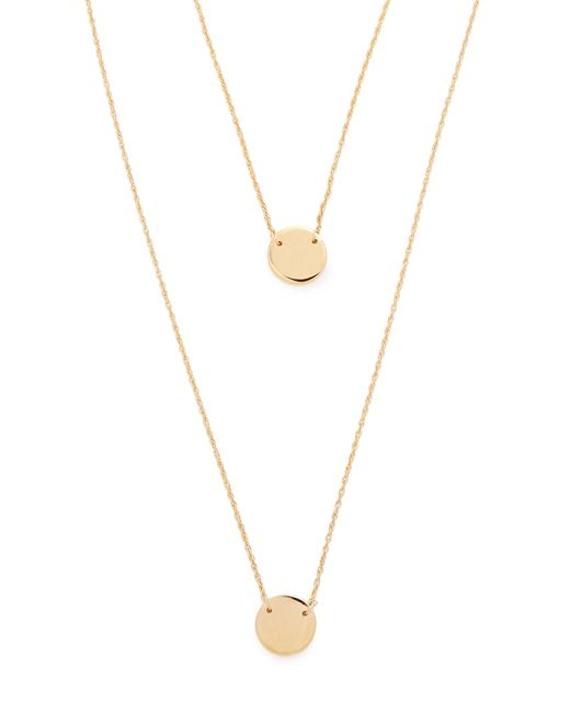 Jennifer Zeuner | Metallic Dylan Necklace | Lyst