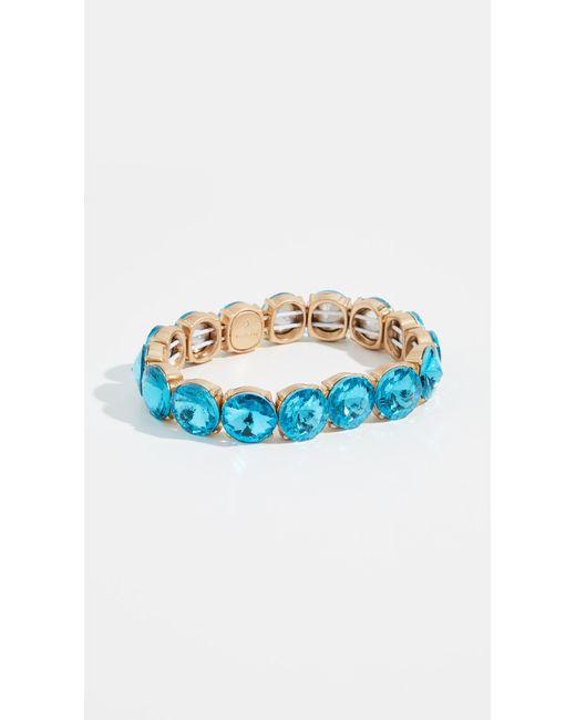 BaubleBar - Blue Large Crystal Statement Bracelet - Lyst