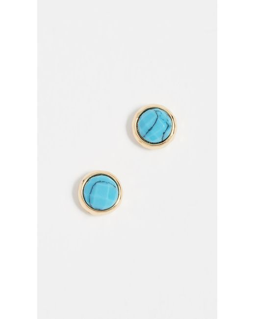 Gorjana - Blue Power Gemstone Stud Earrings - Lyst