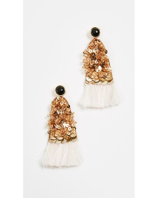 Lizzie Fortunato | Metallic Cotton Candy Earrings | Lyst