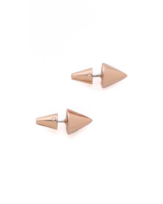 Eddie Borgo   Metallic Cone Stud Earrings   Lyst