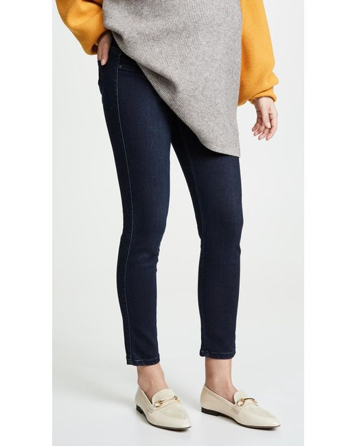 James Jeans - Blue Twiggy Ankle Maternity Legging Jeans - Lyst