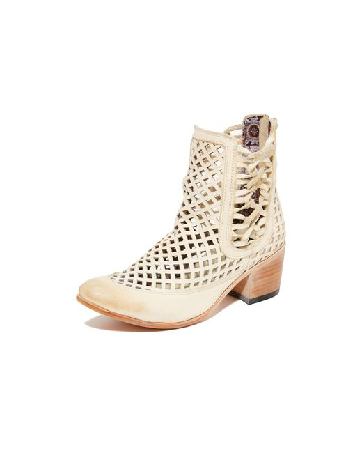 Freebird by Steven | Natural Lazor Booties | Lyst