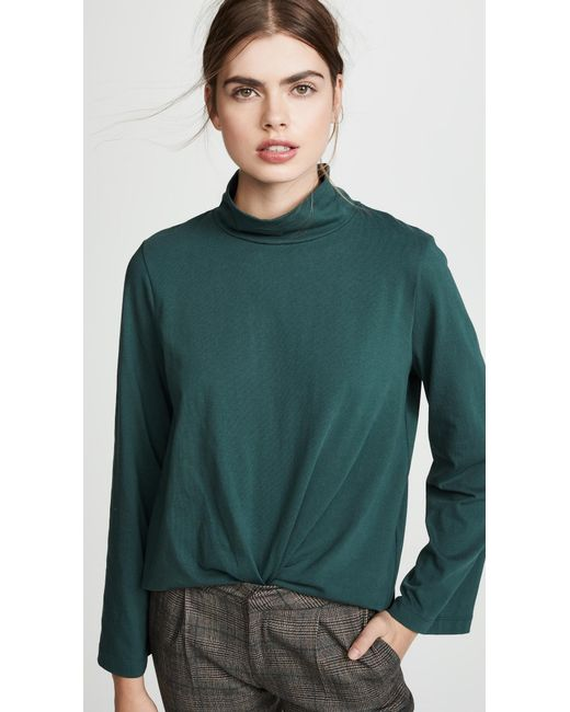 Madewell - Green Oliver Turtleneck - Lyst
