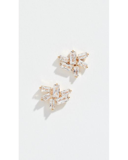 Gorjana - Metallic Amara Cluster Stud Earrings - Lyst