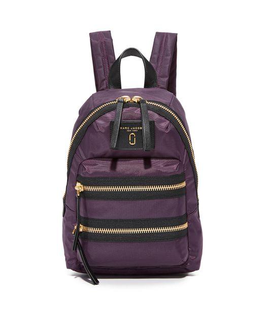 Marc Jacobs | Purple Nylon Biker Mini Backpack | Lyst