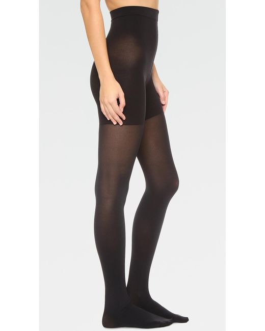 Spanx | Black Luxe Leg Tights | Lyst