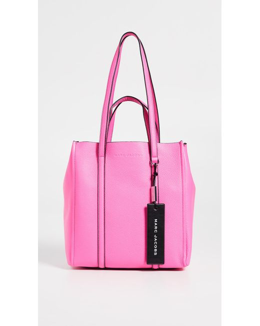 0f6591f2fcaf Marc Jacobs The Tag Tote 27 in Pink - Save 2% - Lyst