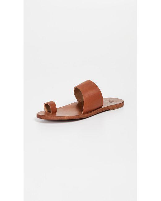 182c55b659ae13 Beek - Brown Finch Sandals - Lyst ...
