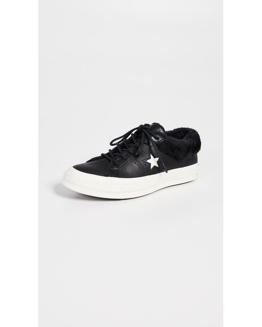 e838ceaa4cc1 Converse - Black One Star Ox Sneakers - Lyst ...